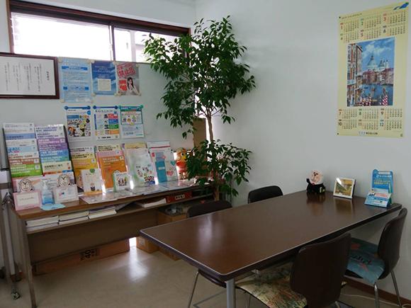 武蔵保険事務所(宇都宮支社)の内装